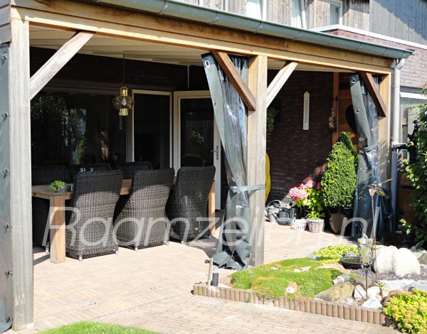verandadoeken, verandagordijnen, zeil voor veranda, terraswanden