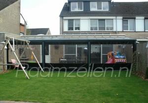 veranda wand, terraswand, horeca terras, balcon veranda