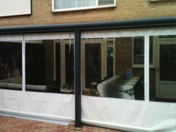 verandadoek, verandazeil, serredoek, verandagordijn, serrezeil