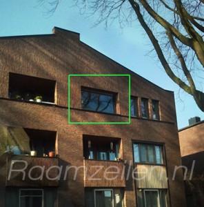 balkonzeilen, raamzeilen