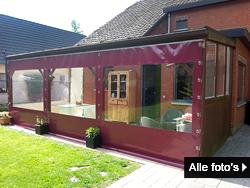 veranda doeken, terras afdichting